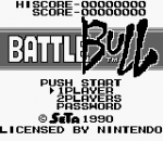 Battle Bull title screenshot