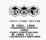 Boxxle title screenshot