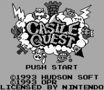 Castle Quest title screenshot