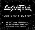 Cosmo Tank title screenshot