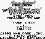 Flintstones, The - King Rock Treasure Island title screenshot