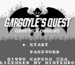 Gargoyle's Quest title screenshot