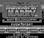 Hammerin' Harry - Ghost Building Company title screenshot