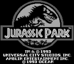 Jurassic Park title screenshot