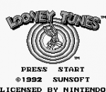Looney Tunes title screenshot