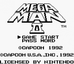 Mega Man II title screenshot