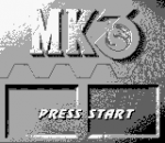 Mortal Kombat 3 title screenshot
