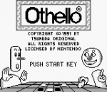 Othello title screenshot