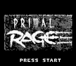 Primal Rage title screenshot