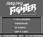 Raging Fighter title screenshot