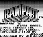 Rampart title screenshot