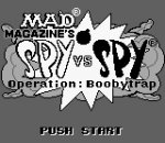 Spy vs Spy - Operation Boobytrap title screenshot
