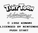 Tiny Toon Adventures - Babs' Big Break title screenshot