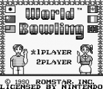 World Bowling title screenshot