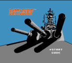Battleship title screenshot
