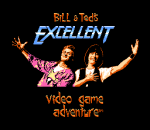 Bill & Ted's Excellent Video Game Adventure title screenshot