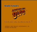 Boy and His Blob, A - Trouble on Blobolonia title screenshot