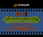 Castlevania II - Simon's Quest title screenshot