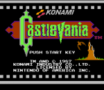 Castlevania title screenshot