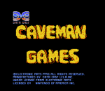 Caveman Games title screenshot