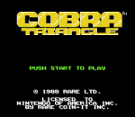 Cobra Triangle title screenshot