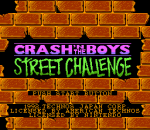 Crash 'n' the Boys - Street Challenge title screenshot