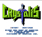 Crystalis title screenshot