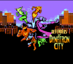 Defenders of Dynatron City title screenshot