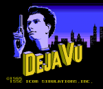 Deja Vu title screenshot