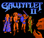 Gauntlet II title screenshot
