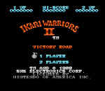 Ikari Warriors II - Victory Road title screenshot