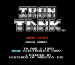 Iron Tank - The Invasion of Normandy title screenshot