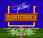 John Elway's Quarterback title screenshot