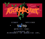 Kick Master title screenshot
