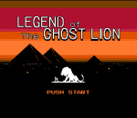 Legend of the Ghost Lion title screenshot
