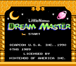 Little Nemo - The Dream Master title screenshot