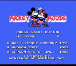 Mickey Mousecapade title screenshot