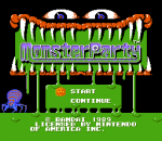 Monster Party title screenshot
