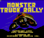 Monster Truck Rally title screenshot