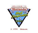 Nintendo World Championships 1990 title screenshot