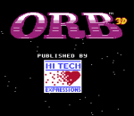 Orb 3D title screenshot