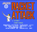 Racket Attack title screenshot