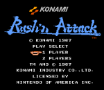 Rush'n Attack title screenshot