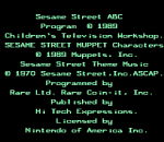 Sesame Street ABC title screenshot