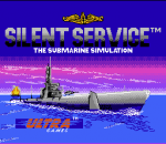 Silent Service title screenshot