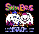 Snow Brothers title screenshot