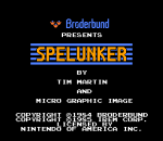 Spelunker title screenshot