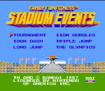 Stadium Events title screenshot