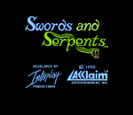 Swords and Serpents title screenshot