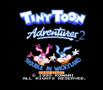 Tiny Toon Adventures 2 - Trouble in Wackyland title screenshot